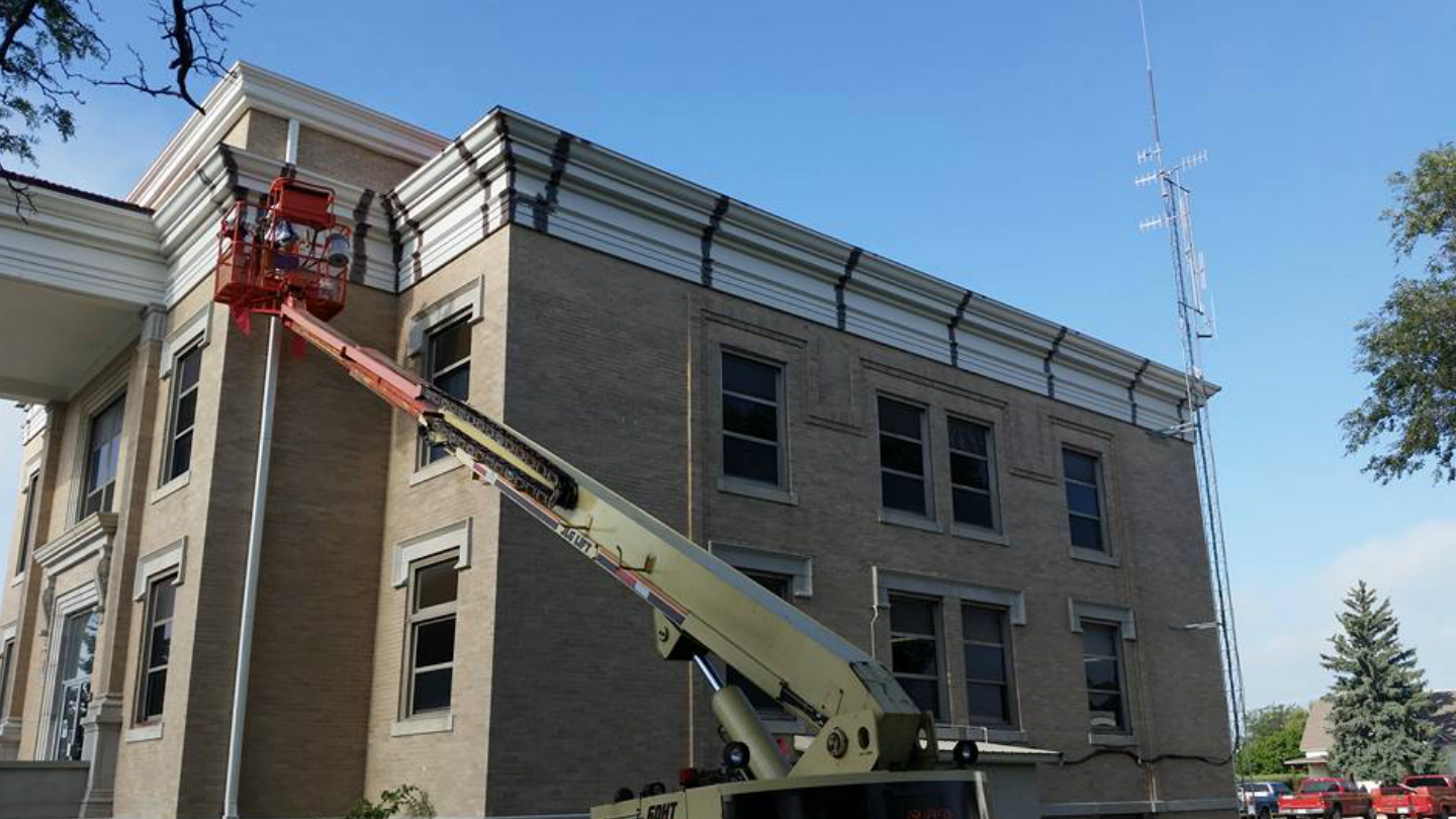 Wallace County Courthouse Cornice Restoration